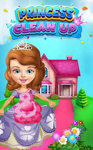 Princess Sofia Cleaning Home 1.0 screenshots 1