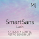 MjSmartSansLatin™ Latin Flipfont Download on Windows