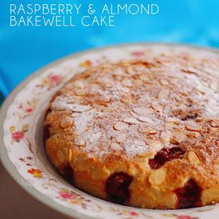 Raspberry and Almond Bakewell Cake