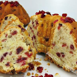 Cranberry Yogurt Cake