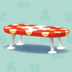 みずたまなローテーブル