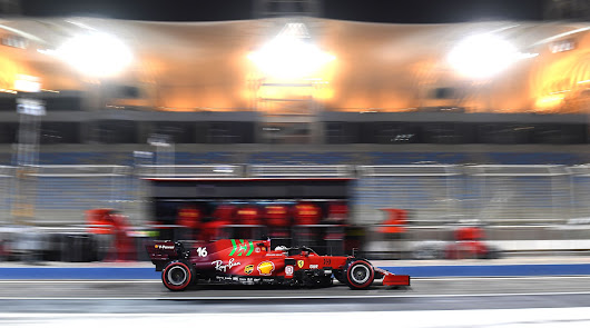 Carlos Sainz se va acoplando cada día más a su Ferrari