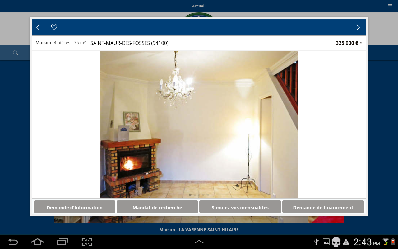 France immobilier- screenshot