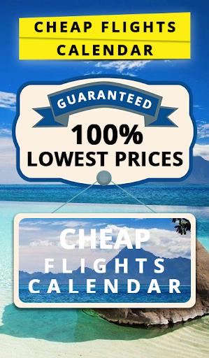 Cheap Flights Calendar 1.1 screenshots 1