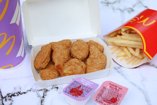 The McDonald's BTS Meal With Chicken Nuggets And 2 Special Sauces. Here's A Review