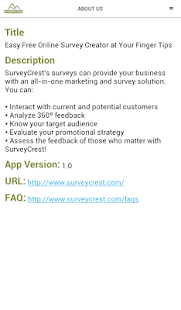 Free Survey Maker- screenshot thumbnail