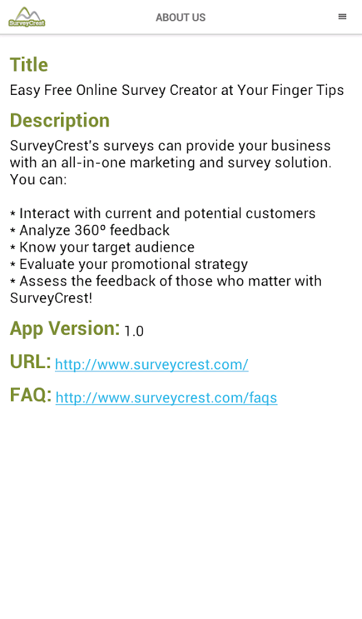 Free Survey Maker- screenshot