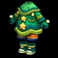 緑ののりまきの服B