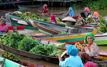 Photo: Lok Baintan Floating Market, Banjarmasin, Borneo, Indonesia