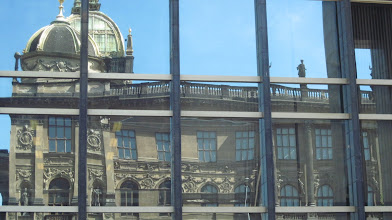 Photo: Reflection of the Prague Art Museum