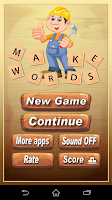 Screenshot of Make Words