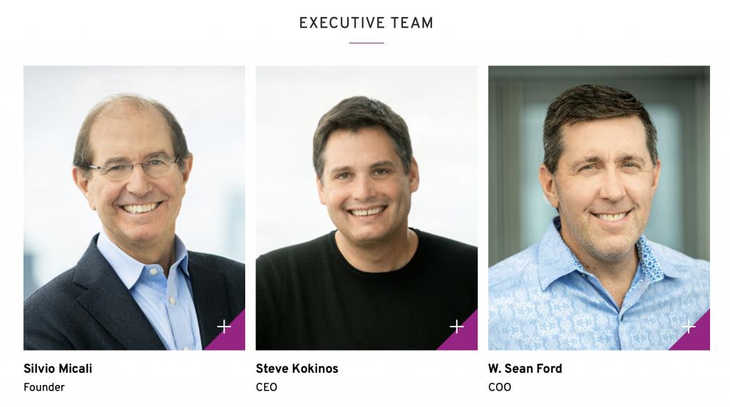 Algorand Executive Team