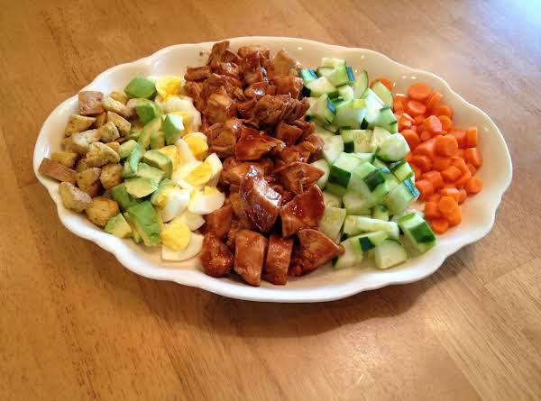 Slow Cooker Bbq Chicken Chopped Salad Recipe