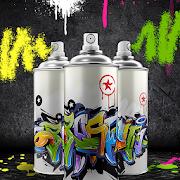 Graffiti Spray Can - Wall Painting