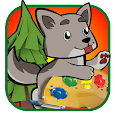 Coloring Pages: Forest Animals apk