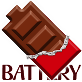 Battery Widget Chocolate