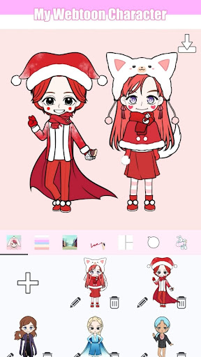 My Webtoon Character - K-pop IDOL avatar maker apktram screenshots 5