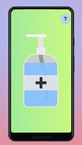 Virtual Hand Sanitizer screenshot 1