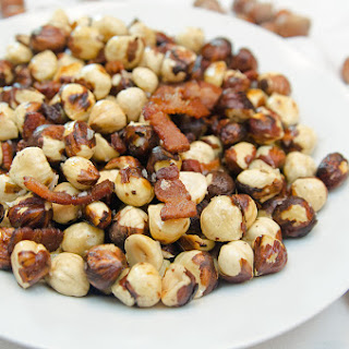 Roasted Bacon Hazlenuts.