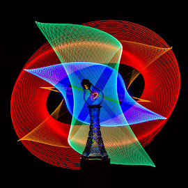 light radiation by Jean-Marc Landry - Abstract Light Painting ( light, led, lightbulb, lightpainting )