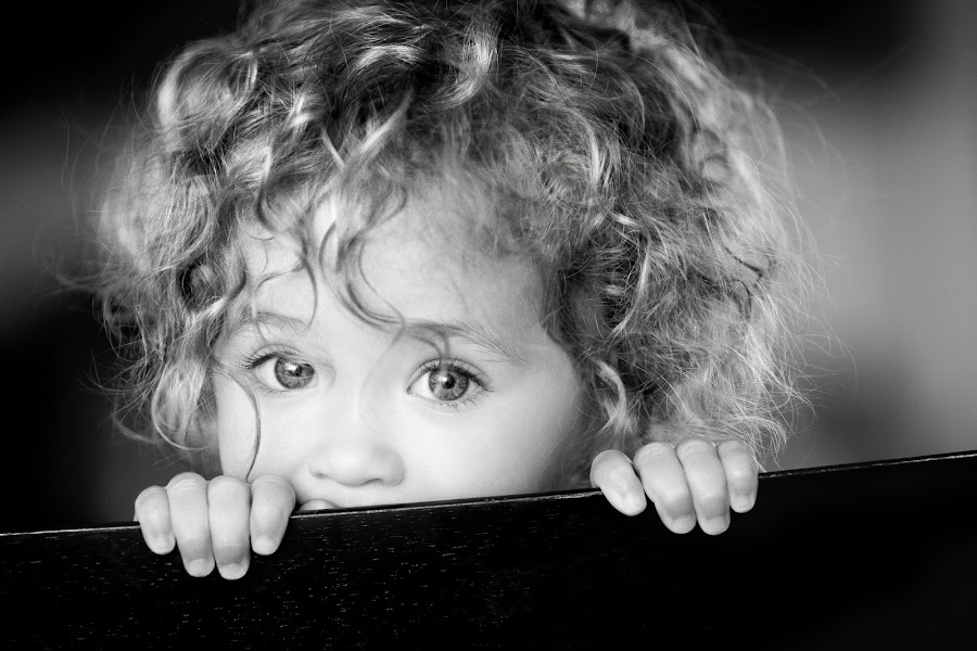 Shirley Temple by Mike DeMicco - Babies & Children Child Portraits ( babies, innocent, beautiful, shirley temple, little, cute, pretty, portrait, curly hair, eyes, love, curly, girl, sweet, adorable, hair )