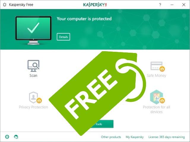 Download và sử dụng Kaspersky Antivirus miễn phí