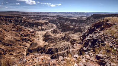 Photo: Visited Fish River Canyon a few weeks ago and while I did manage to get a flat tire on the way out there I wasn't going to miss the views. What an amazing place and I someday I plan to do the 4-5 day hike through the canyon.
