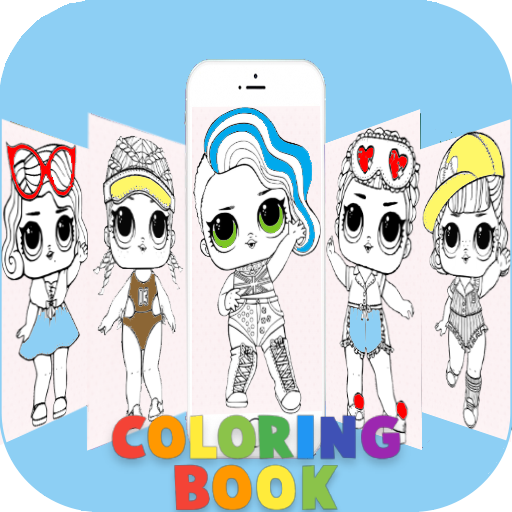 App Insights: How to Color Dolls LOL Surprise | Apptopia