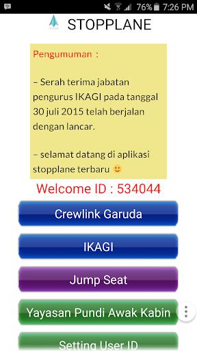 Stopplane Crewlink