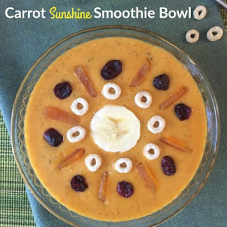 Carrot Sunshine Smoothie Bowl