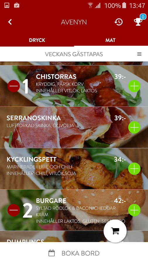 Pinchos Restaurant- screenshot