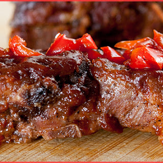 Slow Cooked BBQ Spareribs.
