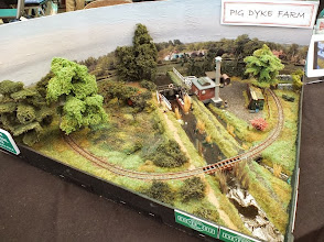 Photo: 014 An overhead view of Pig Dyke Farm from a slightly different angle, showing some of the really superb scenic work by Geoff Broadhurst .