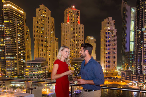 Find romance and plenty of nightlife during your stay in Dubai.