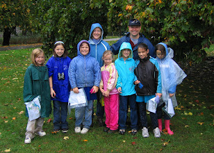 Photo: Orienteering is fun, rain or shine!