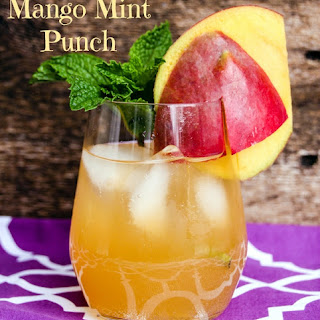 Mango Mint Punch.