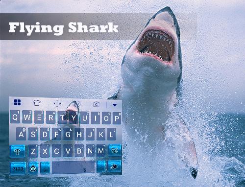 Flying Shark Emoji Keyboard