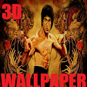 Bruce Lee 3D Wallpapers icon