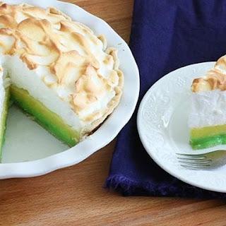 Lemon-Lime Meringue Pie.