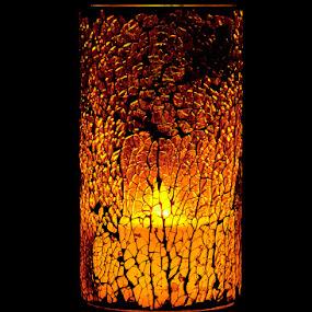Orange Lamp by Svemir Brkic - Artistic Objects Furniture ( orange, lamp, desk,  )