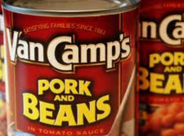 Drain sauce from pork and beans. Reserve sauce until you see that you have...
