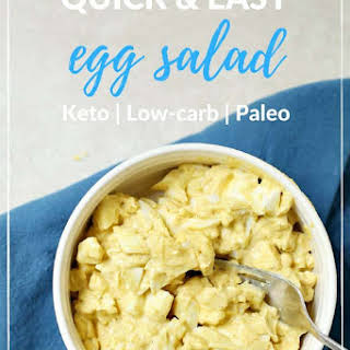 Easy Low Carb Egg Salad.