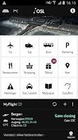 Screenshot of Oslo Airport
