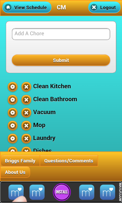 Chore Management - screenshot