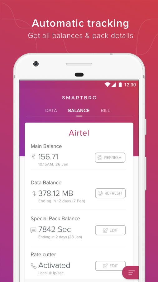 Prepaid Bill & Balance- screenshot