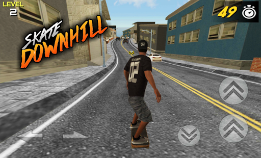3D Skate DownHill 3 screenshots 2