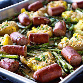 One Pan Sausage & Veggies
