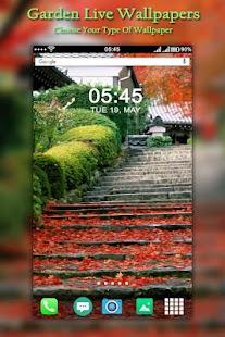 Garden Live Wallpaper : Flowers Live Wallpaper - náhled