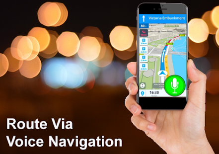 GPS Voice Navigation, Route and Location Finder - náhled