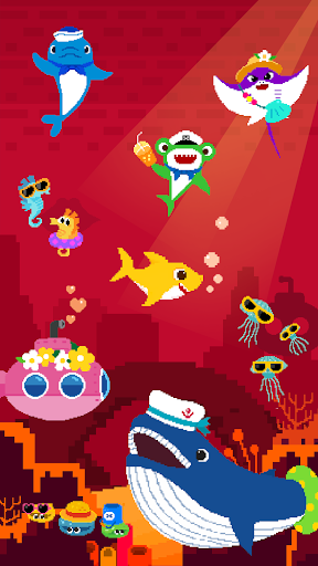 Baby Shark 8BIT : Finding Friends 1.0 screenshots 8